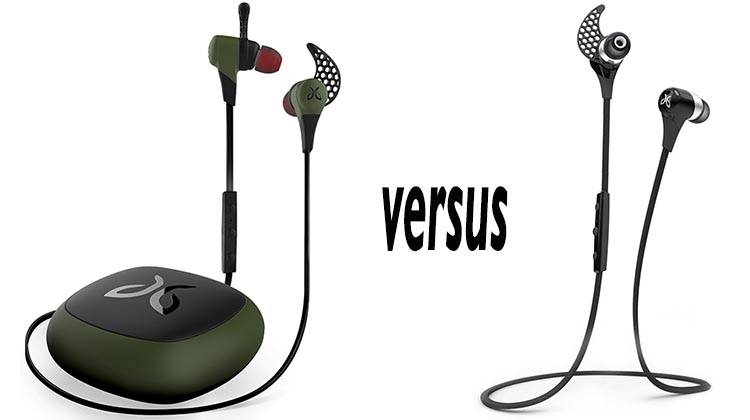 Can you spot the difference between the New Jaybird X2 vs Jaybird X Headphones?