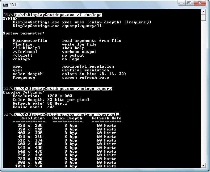 Command line tool vs. PowerShell Cmdlet (1/3)