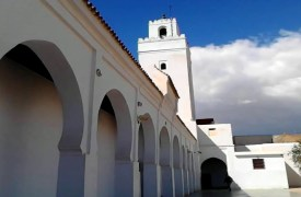 جولة في مسجد الاعظم بتازة
