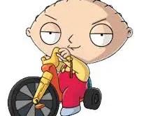 Family Guy - Stewie - Big Wheel
