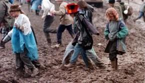 Glastonbury mud 2016