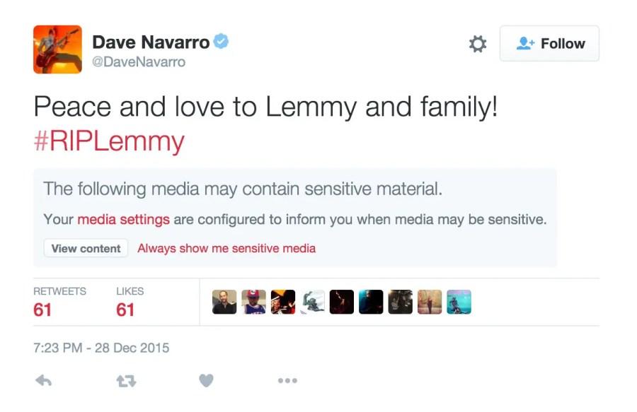 Dave Navarro - Lemmy RIP copy