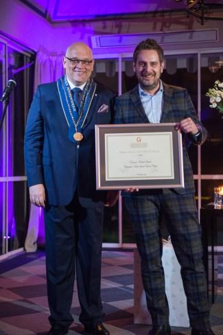 Szef Wojciech Modest Amaro, Atelier Amaro* - laureat Honorowego Dyplomu AIG dla finalisty Grand Prix de L'Arte de la Cuisine