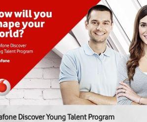 Vodafone Discover Genç Yetenek Programı 2017 Başvuruları