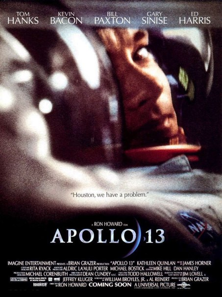 Apollo 13 - 1995: They say an image speaks a thousand words. Tom Hanks aptly proves this point in Ron Howard's gripping space flick about the failed mission to the moon.