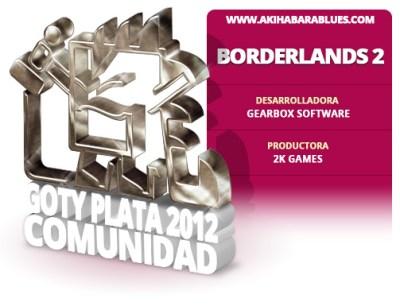 Borderlands 2 es el Segundo Mejor Juego del 2012 para la Comunidad AKB