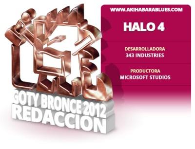 Halo 4, Tercer Mejor Juego del 2012 para la Redacción de AKB