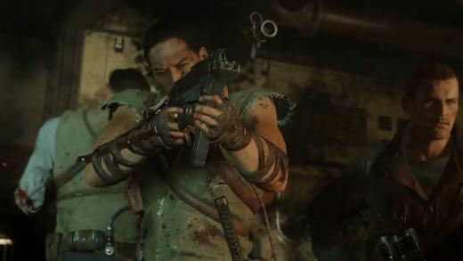 La HG 40 que lleva en esta imagen Takeo. ¿Significa esto que si las hemos conseguido las tendremos disponibles también en modo zombies?