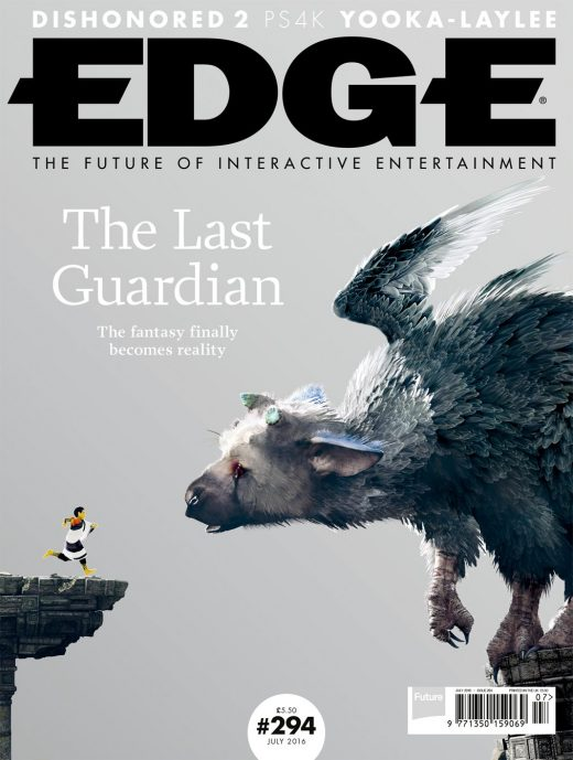 Portada revista EDGE, edición julio 2016.