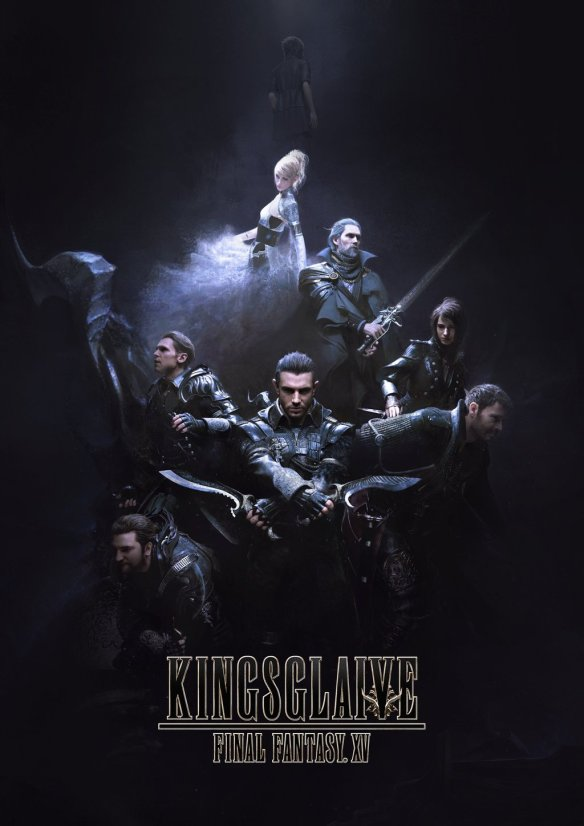 Póster de Final Fantasy Kingsglaive