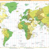 隣接して時差が一番大きいのは中国-アフガニスタン国境
