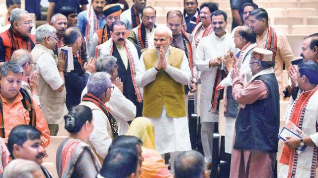 Image result for BJP gets a majority in RS
