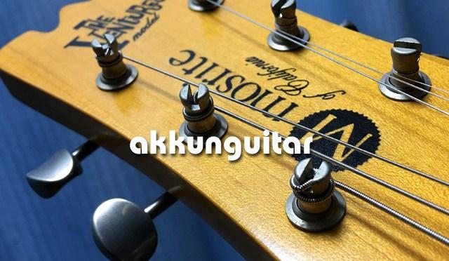 バイオリンギターのペグをモズライトのペグに交換♪ ~GOTOH SD90-05M