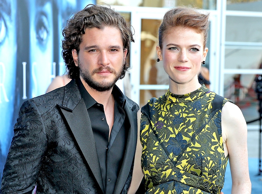 Kit Harington and Rose Leslie s Road to Wedding  Relive Their     Kit Harington  Rose Leslie