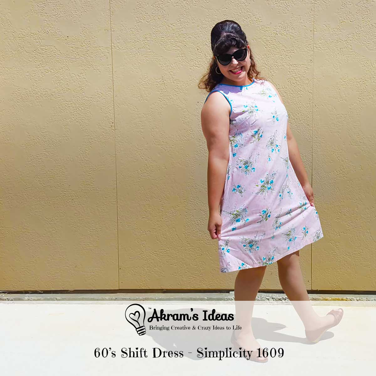 60's Shift Dress - Simplicity 1609