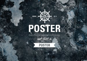 When is a poster not just a poster