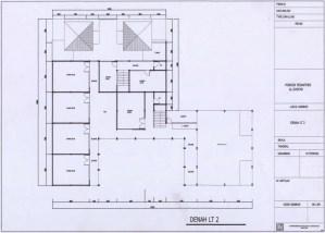 Denah Gedung Lantai 2