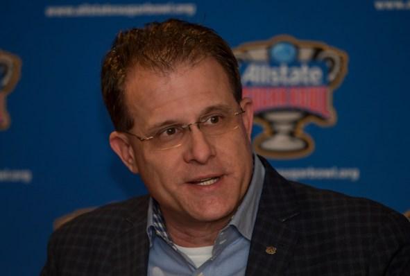 Auburn football head coach Gus Malzahn in New Orleans. (Wade Rackley/Auburn Athletics)