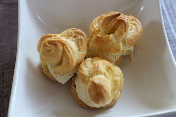 gluten-free profiterole recipe