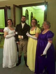 Katie, Jeremy, Lauren and I at the Grand Napoleonic Ball