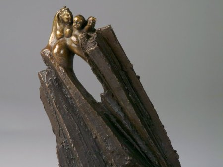 Départ, bronze 25x20x15
