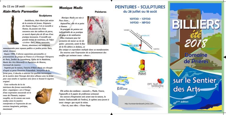 Sentier des Arts 11-18 Aôut 2018