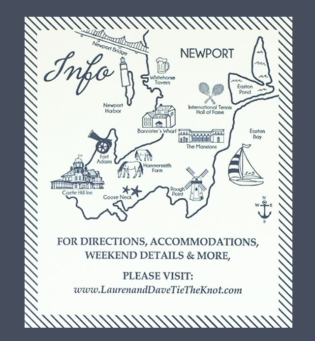 Invite Newport Map