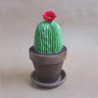 DIY: Potted Cactus Cake