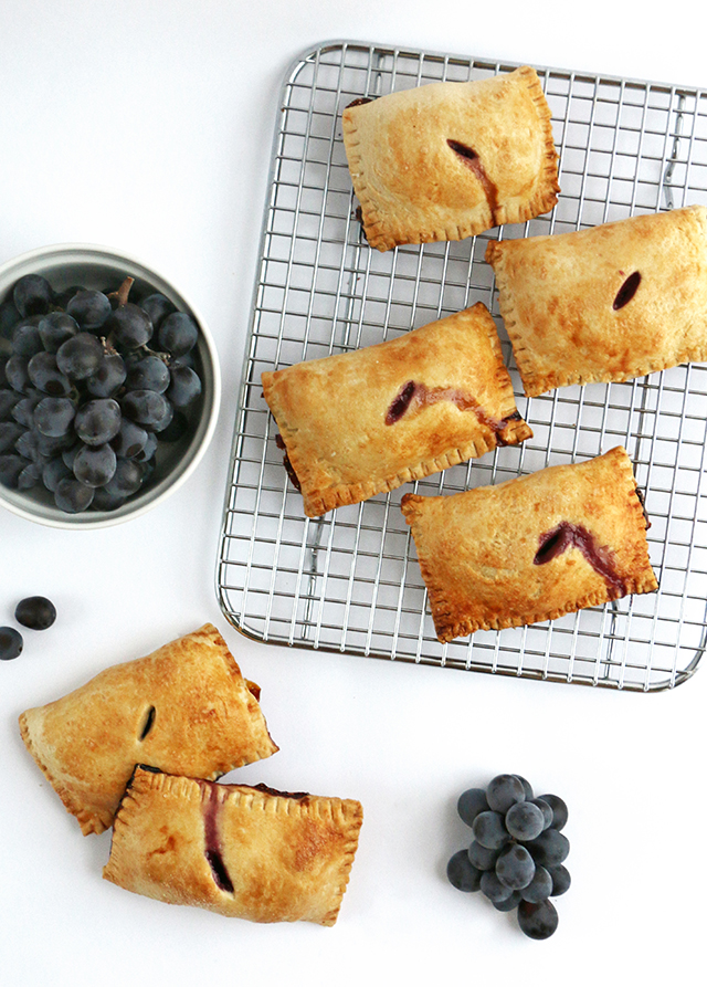 Concord Grape Pies
