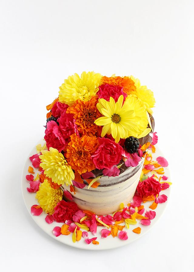 Flower Cake 5