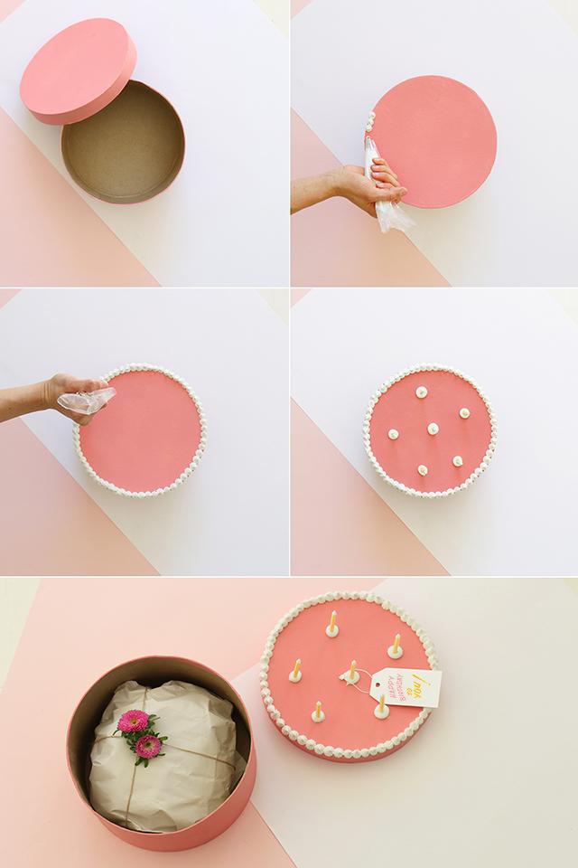 Cake Gift Box DIY