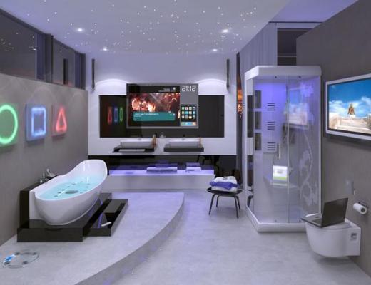 high tech home