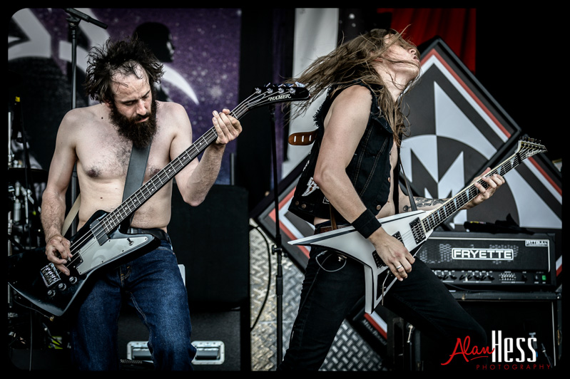 Rockstar Energy Drink Mayhem Festival 2013/ Huntress