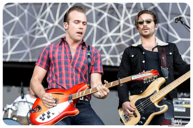 The Shelters perform at the 91X-Fest on June 5, 2016 at Sleep Train Amphitheatre in Chula Vista, CA