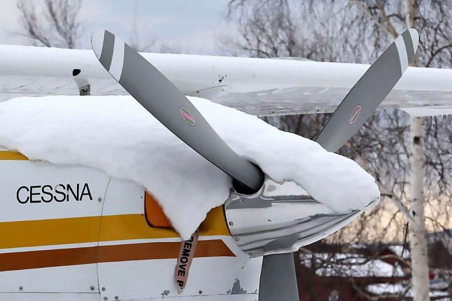 Alaska, aircraft, winter flying
