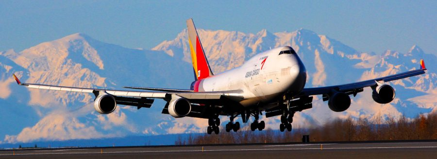 Asiana Cargo Jet at PANC