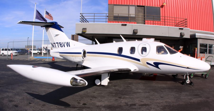 Eclipse 500 Jet at PANC
