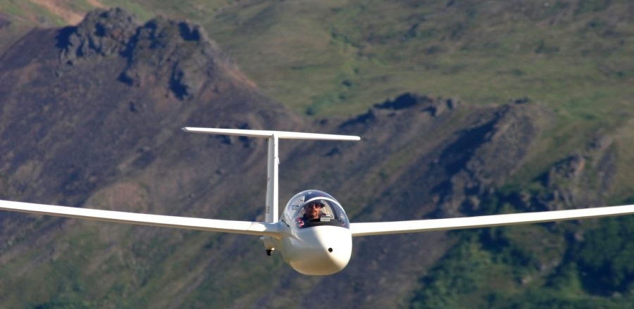 Jeff Banks in Russia Motorglider