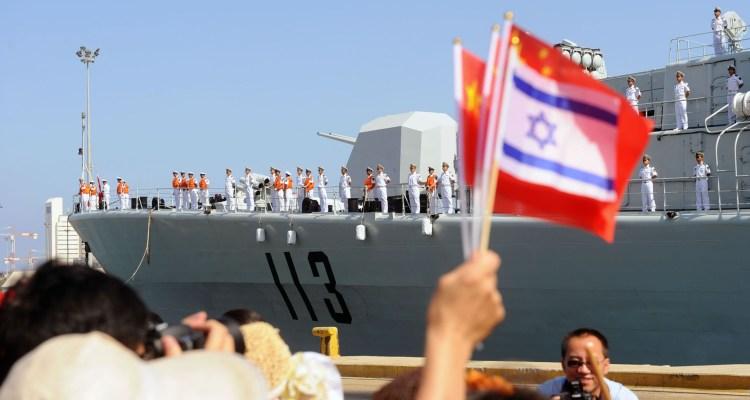 """لصين في موانئ """"إسرائيل"""""""