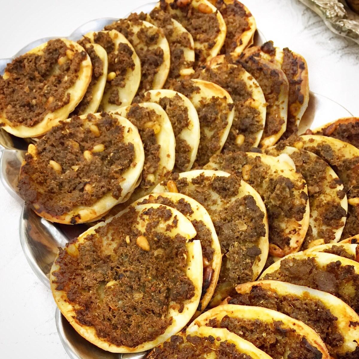 Mini Sfeeha Meat Pies
