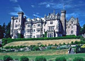 Not too Shabby, Skibo Castle stayed in the Carnegie Family until 1982.  Now a Super Posh Private Golf Club and Can be Hired for Weddings like Madonna & Guy Rithche