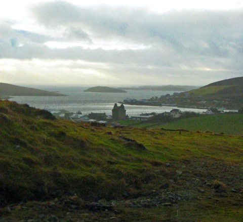 scalloway castle - 600