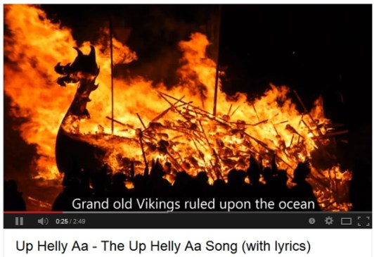 Up Helly Aa Song