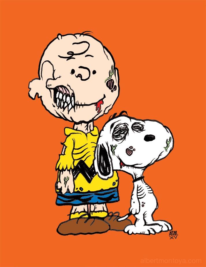 Charlie Brown Zombie