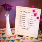 School Day Checklist