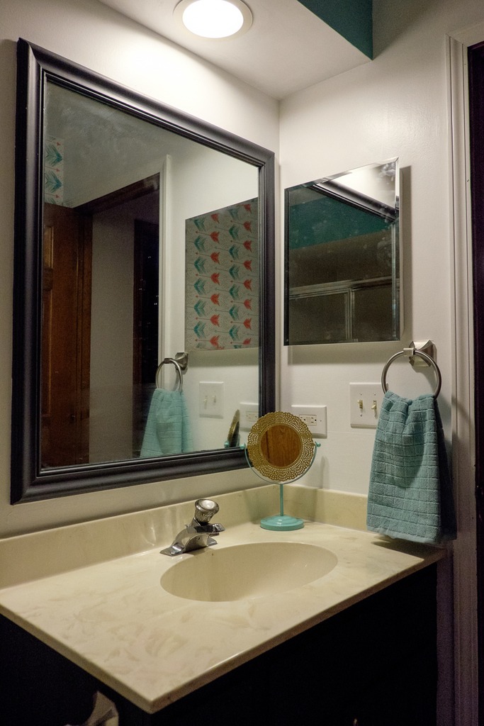 Small Bathroom Update Albion Gould
