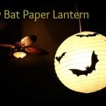 Easy Bat Paper Lantern