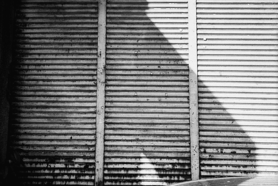 Shuttered - Ilford FP4+ shot at ISO125