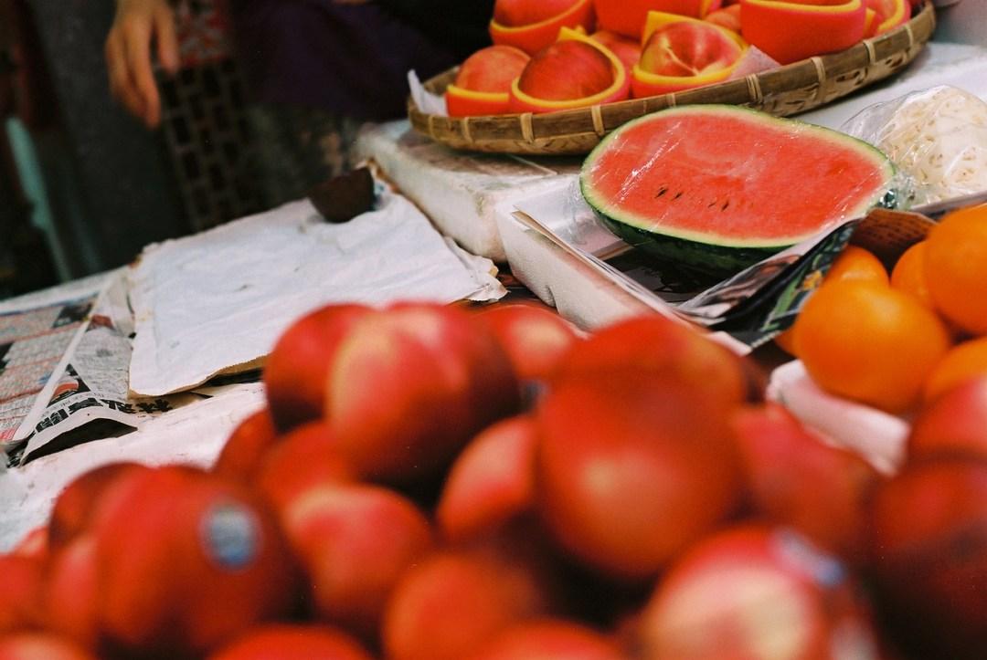 Fruity - Kodak High Definition 200 shot at EI 200. Color negative film in 35mm format.