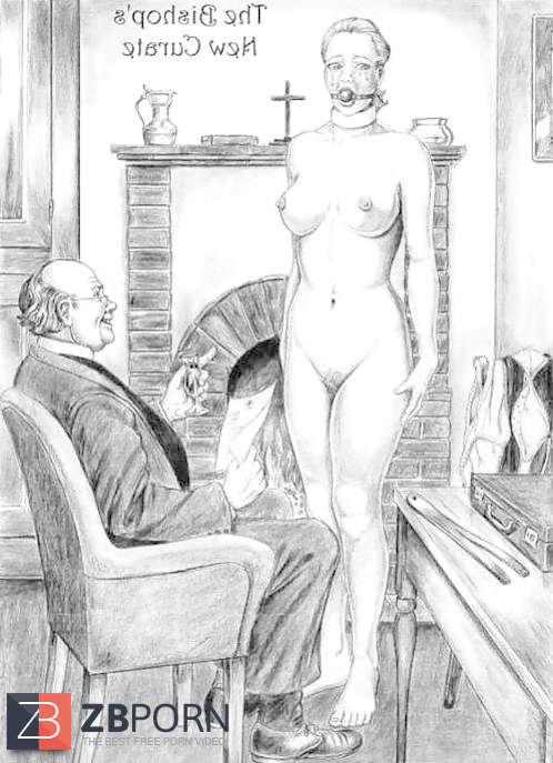 februs spanking drawings